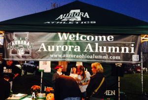 Homecoming Alumni Tent